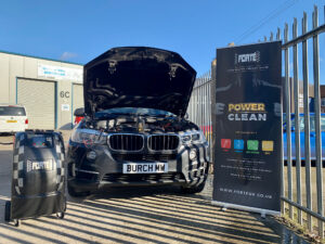 Forte Power Clean in action (BMW car)